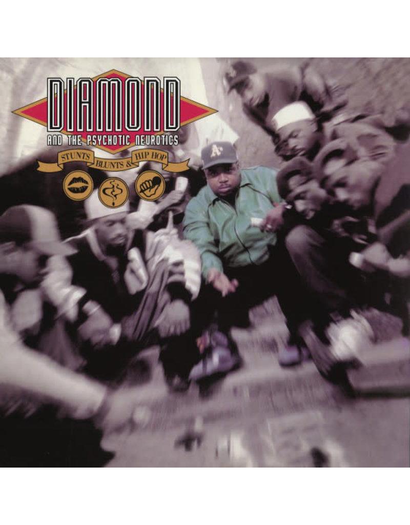 HH Diamond* And The Psychotic Neurotics - Stunts, Blunts, & Hip Hop 2LP (Reissue)