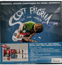 "V/A - Scott Pilgrim Vs. The World OST ""Seven Evil Exes Limited Edition"" 4LP Picture Disc BOX SET (2021)"