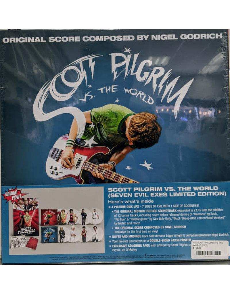 "V/A - Scott Pilgrim Vs. The World OST ""Seven Evil Exes Limited Edition"" 4LP Picture Disc BOX SET (2021)"