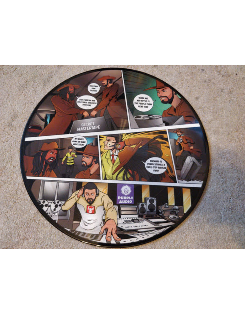 """V/A -  Tweeter Box presents King Culture Vol 4 - Give a Little Love 12"""" (2021), Limited 250, Picture Disc"""