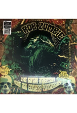 Rob Zombie - The Lunar Injection Kool Aid Eclipse Conspiracy LP (2021), Red w/ Black & White Splatter