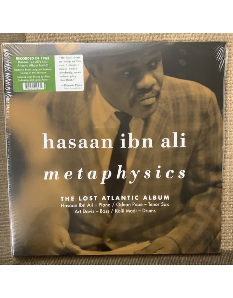 Hasaan Ibn Ali - Metaphysics: The Lost Atlantic Album 2LP (2021), Limited 1500, Numbered