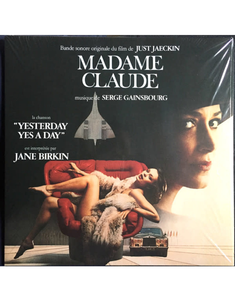 Serge Gainsbourg - Madame Claude (Bande Originale Du Film) OST LP (2021)