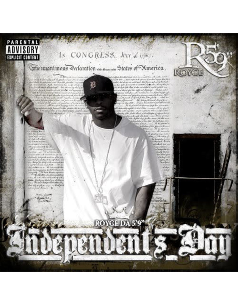 """Royce Da 5'9"""" - Independent's Day CD (2005)"""
