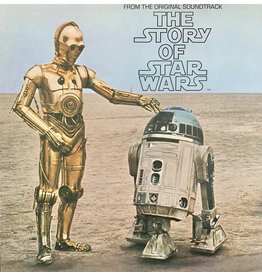 (VINTAGE) Original Cast With Narration By Roscoe Lee Browne - The Story Of Star Wars LP [VG] (1977)
