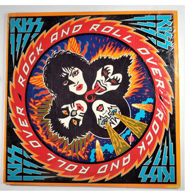 (VINTAGE) Kiss - Rock And Roll Over LP [VG+] (1976), US Pitman Pressing