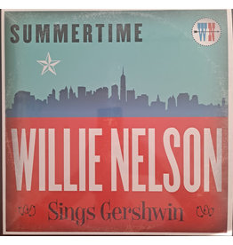 Willie Nelson - Summertime: Willie Nelson Sings Gershwin LP (2021 Music On Vinyl Reissue), Limited 1000, Numbered, Transparent Red, 180g