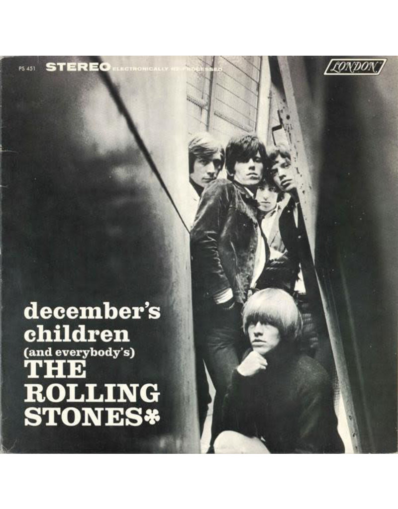(VINTAGE) The Rolling Stones - December's Children (And Everybody's) LP [VG+] (1982 Reissue, Canada), Stereo