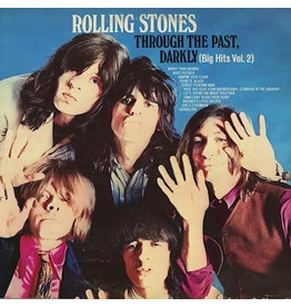 (VINTAGE) The Rolling Stones - Through The Past, Darkly (Big Hits Vol. 2) LP [NM] (1969 Canada Compilation)
