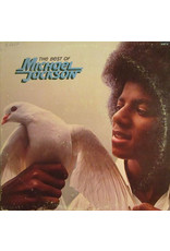 (VINTAGE) Michael Jackson - The Best Of Michael Jackson LP [VG] (1975, Canada, Compilation)