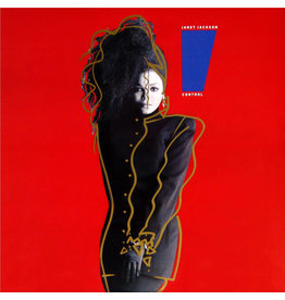 (VINTAGE) Janet Jackson - Control LP [VG+] (1986, US, Club Edition), Opaque Yet Translucent