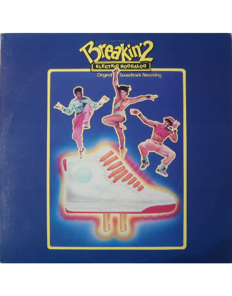 (VINTAGE) V/A - Breakin' 2 - Electric Boogaloo OST LP [VG] (1984 Canada)