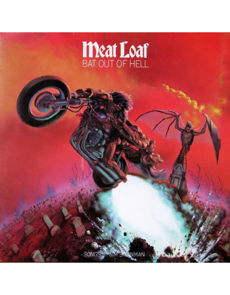 (VINTAGE) Meat Loaf - Bat Out Of Hell LP (1977, Canada) [Sleeve:VG+, Disc:VG]