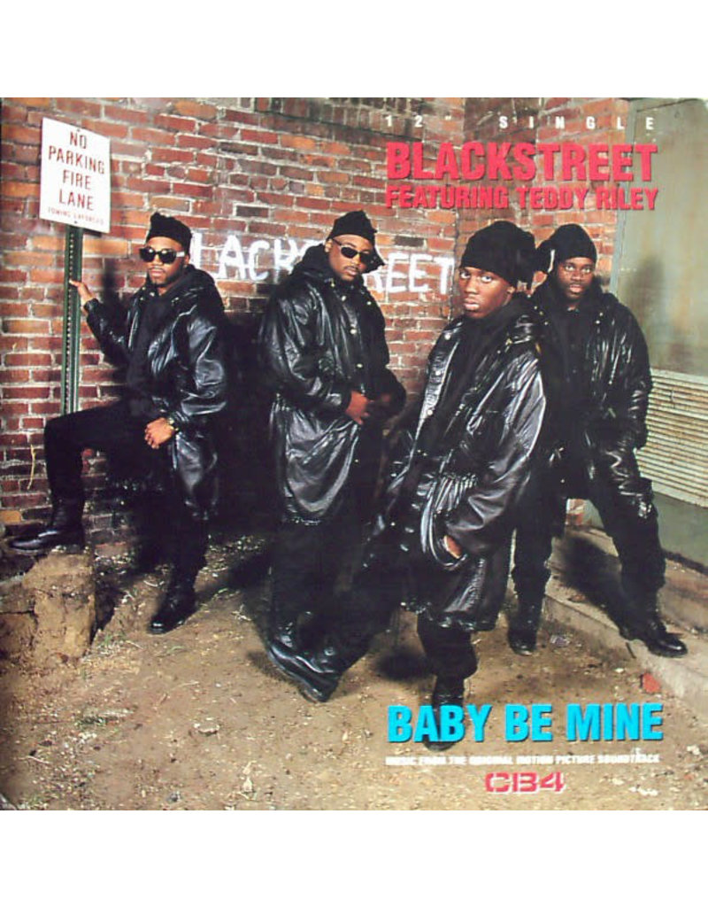 "(VINTAGE) Blackstreet Featuring Teddy Riley - Baby Be Mine 12"" [VG+] (1993, US)"