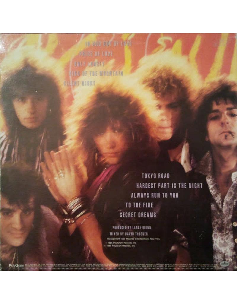 (VINTAGE) Bon Jovi - 7800° Fahrenheit LP [Sleeve:VG, Disc:NM] (1985, Canada), w/ Inner Sleeve