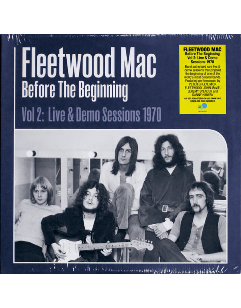 Fleetwood Mac - Before The Beginning Vol. 2: Live & Demo Sessions 1970 3LP