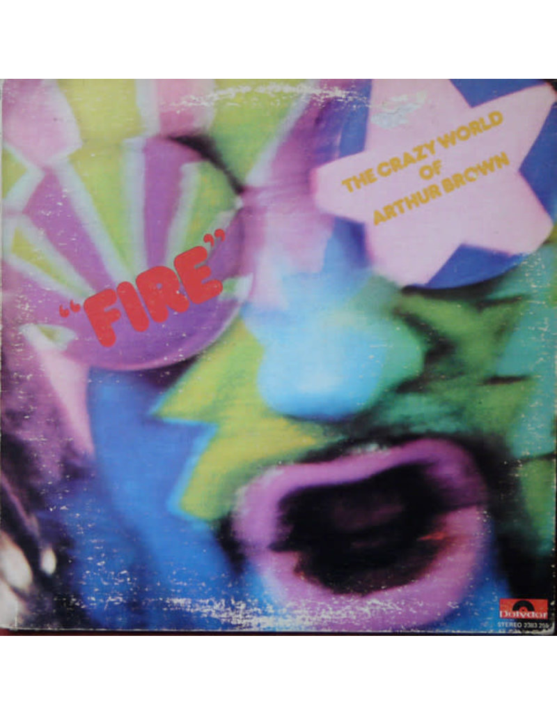 (VINTAGE) The Crazy World Of Arthur Brown - The Crazy World Of Arthur Brown LP [Sleeve:VG,Disc:NM] (1973 Reissue, Canada), Stereo