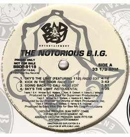 """(VINTAGE) Notorious B.I.G. - Sky's The Limit 12"""" [VG+] (1997, US)"""