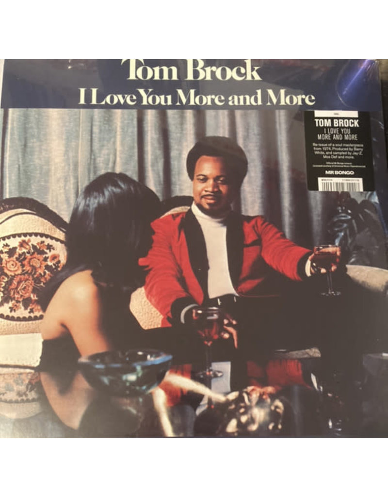 Tom Brock - I Love You More And More LP (2021 Mr Bongo Reissue)