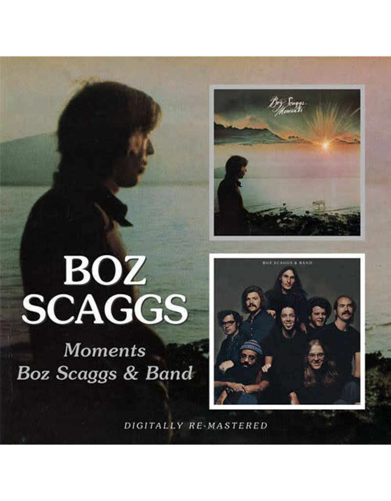 Boz Scaggs - Moments / Boz Scaggs & Band CD (2008 Compilation)