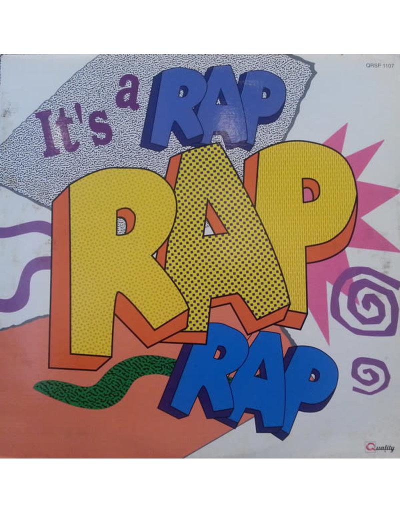 (VINTAGE)V/A - It's A Rap LP [NM] (1990, Canada), Compilation