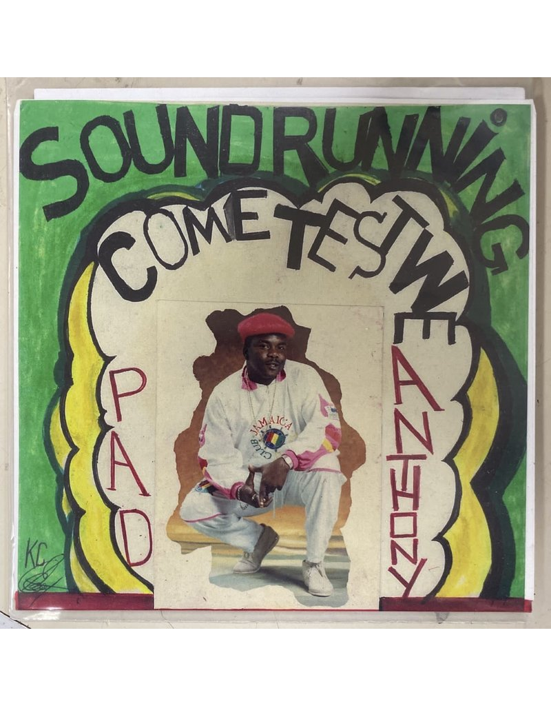"""Pad Anthony - Sound Running/Come Test We 7"""""""