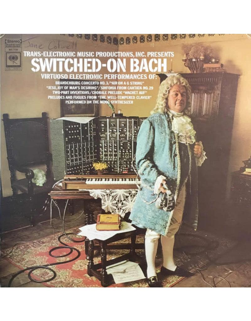 (VINTAGE) Walter Carlos, Benjamin Folkman - Switched-On Bach LP [Sleeve:VG,Disc:VG+] (1970 Repress, Canada)