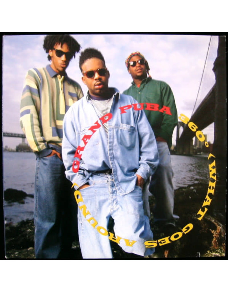 "(VINTAGE) Grand Puba - 360° (What Goes Around) 12"" [VG+] (1992,US)"