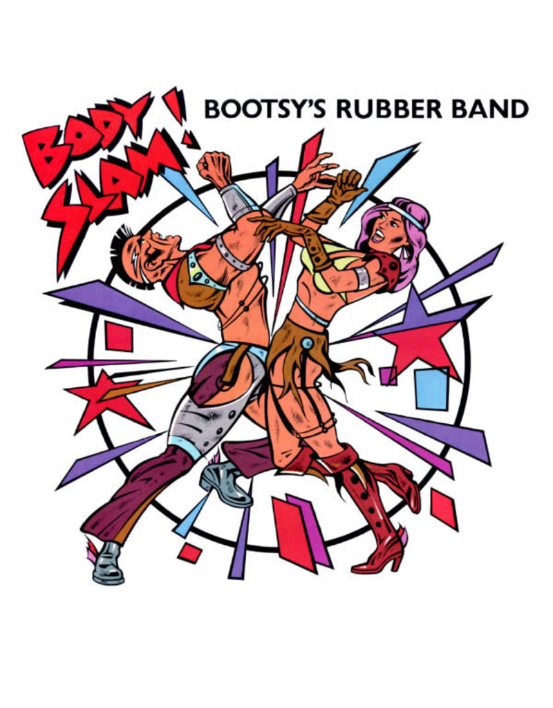 """(VINTAGE) Bootsy's Rubber Band - Body Slam! 12"""" [VG] (1982, US)"""