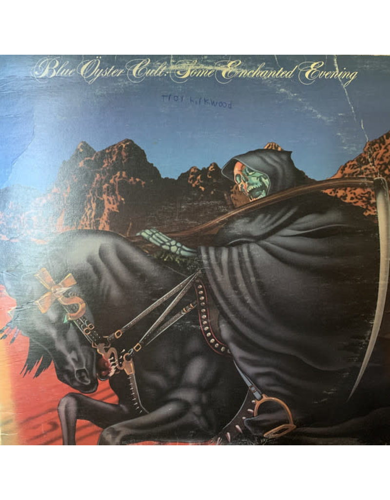(VINTAGE) Blue Öyster Cult - Some Enchanted Evening LP [NM] (1978, Canada), Stereo