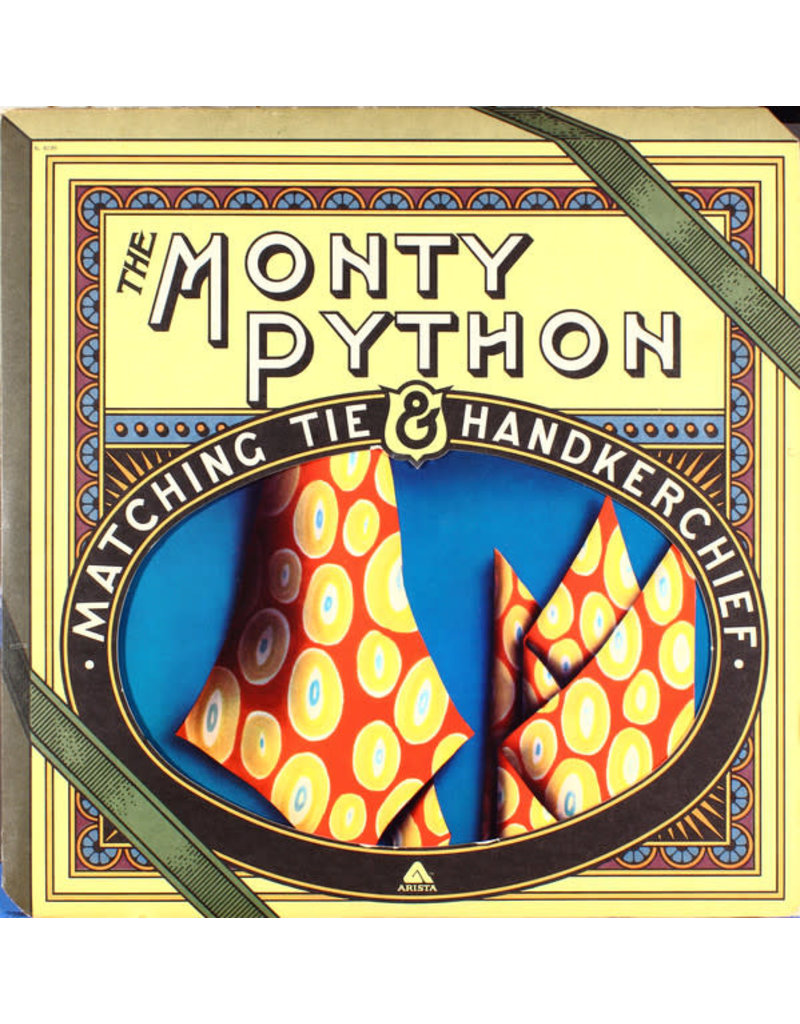 (VINTAGE) Monty Python - The Monty Python Matching Tie And Handkerchief LP [VG] (1975, US), B-Side Double Grooved