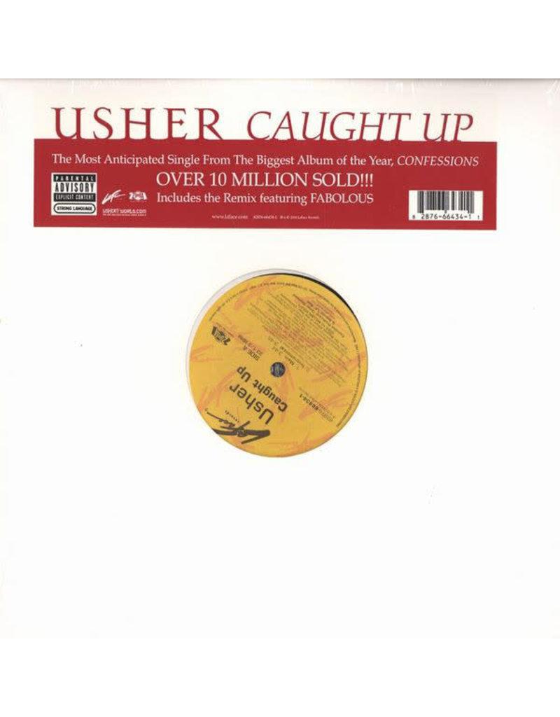 """(VINTAGE) Usher - Caught Up 12"""" [VG+] (2004, US)"""