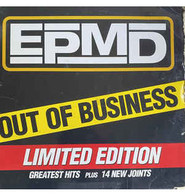 (VINTAGE) EPMD - Out Of Business/Greatest Hits 4LP [Sleeve:G,DiscVG+/NM] (1999,US), Compilation