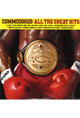 (VINTAGE) Commodores - All The Great Hits LP [NM] (1982, Canada), Compilation