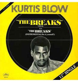 """(VINTAGE) Kurtis Blow - The Breaks 12"""" [Sleeve:NM,Disc:VG+] (1980, US), Pitman Pressing"""
