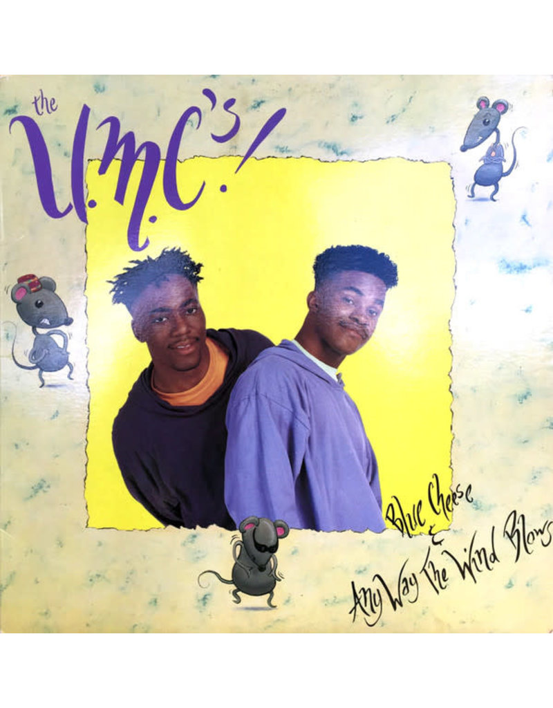 """(VINTAGE) The U.M.C.'s! - Blue Cheese & Any Way The Wind Blows 12"""" [VG] (1991, US)"""