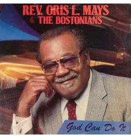 (VINTAGE) Rev. Oris Mays, The Bostonians - God Can Do It LP [SEALED, MINT] (1989,US)