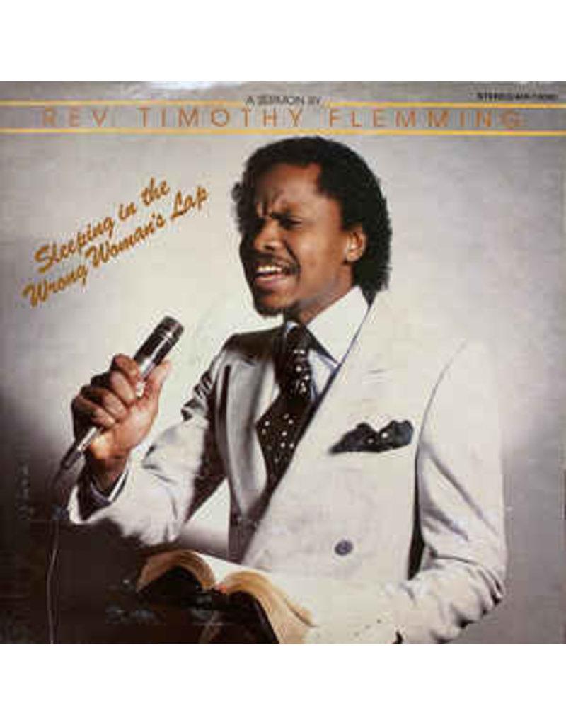 (VINTAGE) Rev. Timothy Flemming - Sleeping In The Wrong Woman's Lap LP [NM] (1984, US)