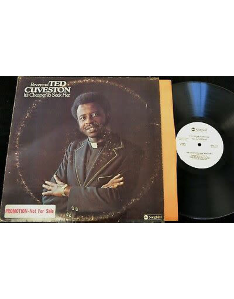 (VINTAGE) Reverend Ted Cuveston - It's Cheaper To Seek Her [VG] (1974, US)