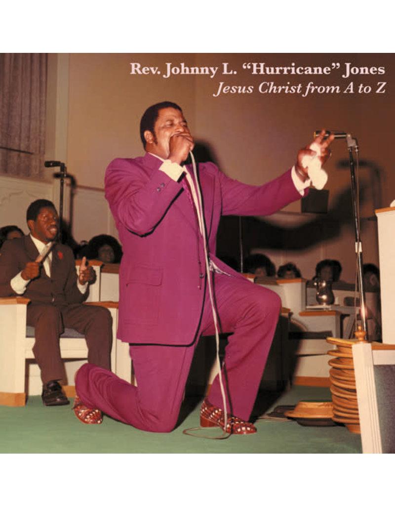 "Rev. Johnny L. ""Hurricane"" Jones - Jesus Christ From A To Z LP (2009 Compilation)"