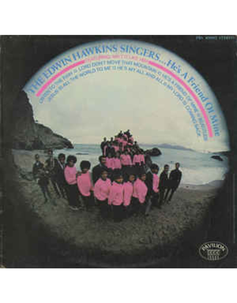 (VINTAGE) The Edwin Hawkins Singers - He's A Friend Of Mine LP [Sleeve:NM,Disc:VG+] (1969, Canada)