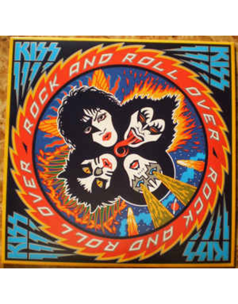 Kiss - Rock And Roll Over LP (2014 Reissue), 180g