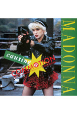 """(VINTAGE) Madonna - Causing A Commotion 12"""" [Cover:NM,Disc:VG+] (1987, Canada), Sire Logo on Right Top"""