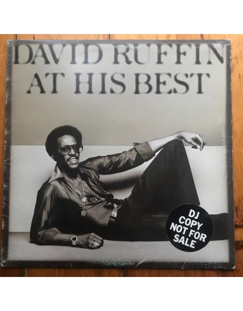 (VINTAGE) David Ruffin - At His Best LP [Sleeve:VG,Disc:VG+] (1978,Canada), Compilation