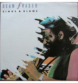 (VINTAGE) Dean Fraser - Sings & Blows LP [VG+] (1988,Jamiaca)