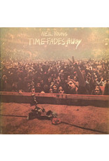 (VINTAGE) Neil Young - Time Fades Away LP [Sleeve:G,Disc:VG+] (1973, Canada), Paper Damaged on Cover
