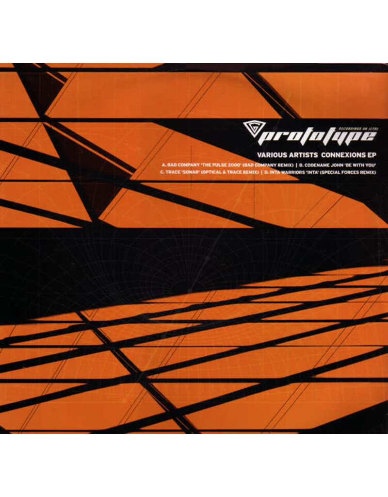 "(VINTAGE) V/A (Prototype Recordings) - Connexions EP 2x12"" [NM] (2000, UK)"