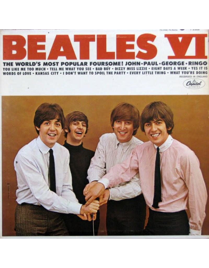(VINTAGE) The Beatles - Beatles VI LP [VG+] (1965, Canada), Mono