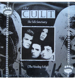 """(VINTAGE) The Cult - She Sells Sanctuary (The Howling Mix) 12"""" [Sleeve:VG+,Disc:NM] (1985, Canada)"""