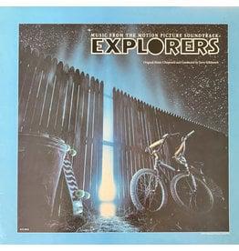(VINTAGE) Jerry Goldsmith - Explorers OST [NM] (1985, Canada)